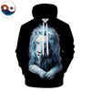 Image of Child of Light Lion Hoodie (Dark Edition) - Printeera Store