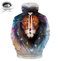 Sacred King Hoodie by Pixie Cold Art