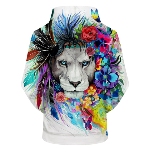 King Of The Lion Hoodie - Printeera Store