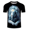 Image of Child of Light Lion T-Shirt (Dark Edition) - Printeera Store