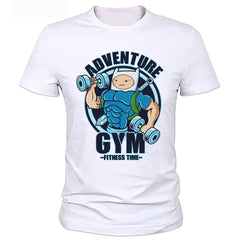 Adventure Gym Fitness Time T-Shirt - Printeera Store