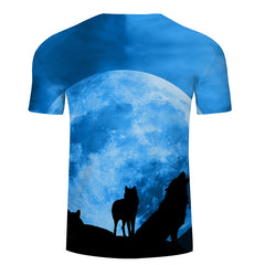 Blue Moon Wolf T-Shirt