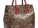 Paisley Leather Bag