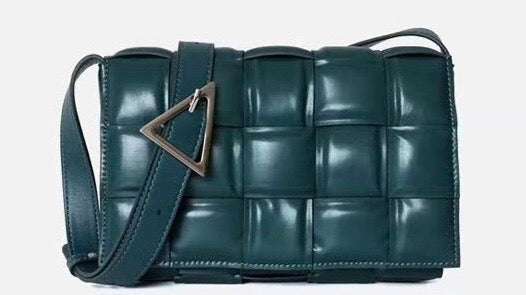 Woven Leather Cross Body