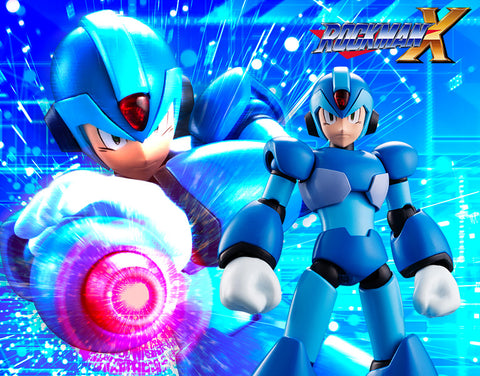 【已截訂】Kotobukiya Mega Man X 1/12 Plastic Model Kit