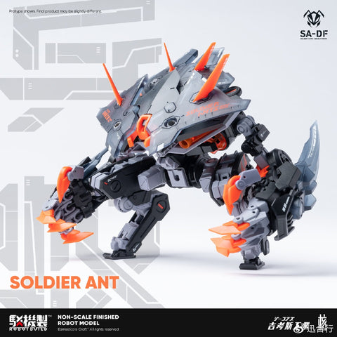 RB-05 Soldier Ants CARBE-Deadly Force Action Figure | 核誠治造 Robot Build | Earnestcore Craft【現貨】