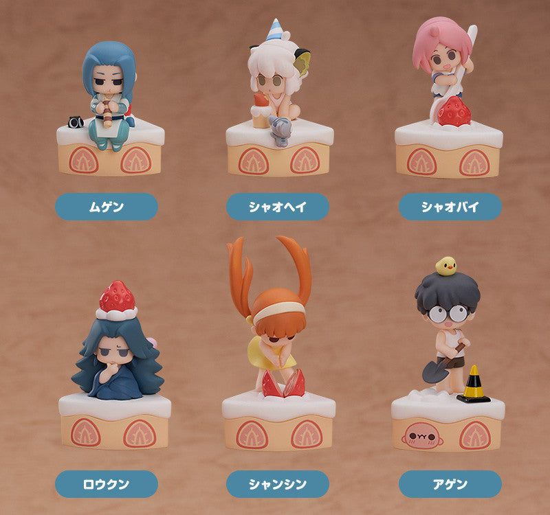 【預訂日期至29-Jan-21】Good Smile Arts Shanghai The Legend of Hei Collectible Figures Happy Birthday [BOX 6入]