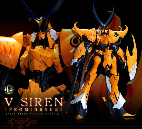 【已截訂】Volks V SIREN [PROMINENCE] 1/100 Plastic Model Kit