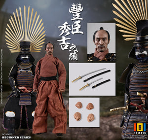 【已截訂】101Toys KN005 BEGINNER SERIES APE-Toyotomi Hideyoshi (STANDARD VERSION) 1/6 Action Figure