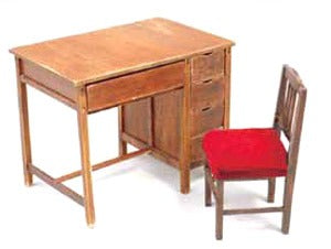 【現貨】Cobaanii Mokei Work Shop 1:12 desk & Chair of Teacher