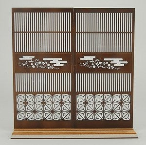 【現貨】Cobaanii Mokei Work Shop 1:12 Lattice Door with Japanese Pattern 2