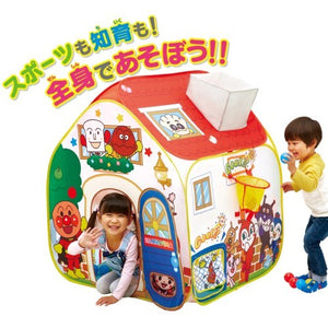 Anpanman Education Ball Tent Pan Factory | 麵包超人煙囪遊戲帳篷玩具 | Bandai【現貨】