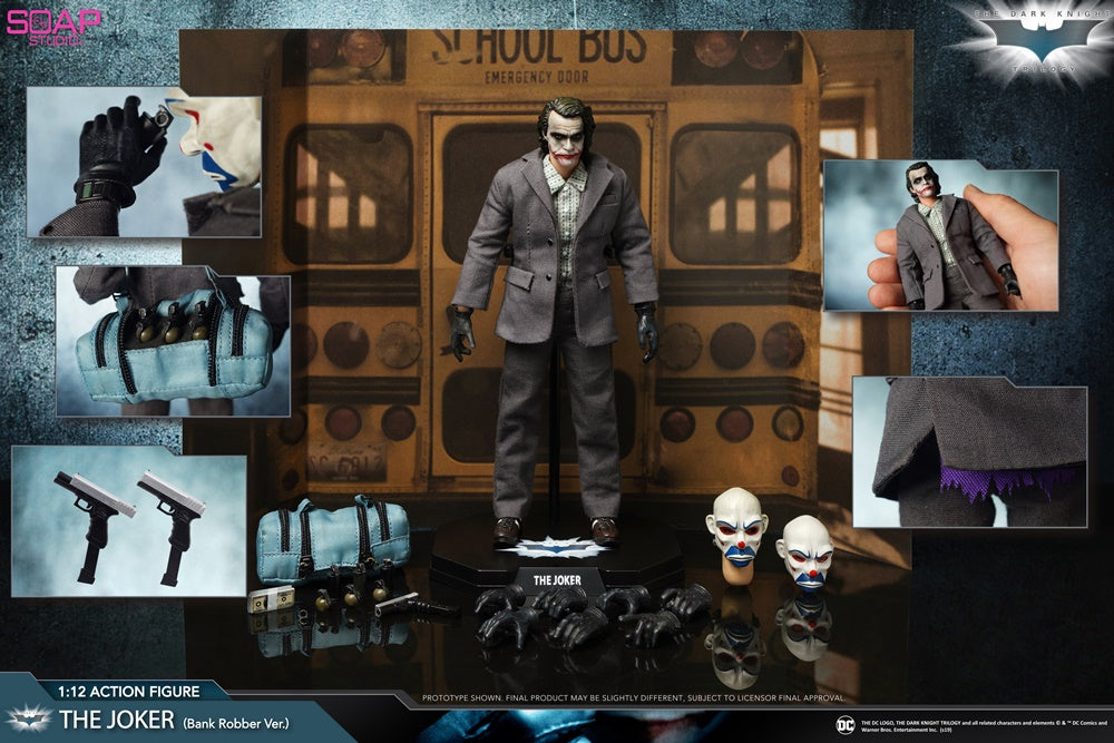 【已截訂】Soap Studio The Joker sales kit 1/12 Action Figure