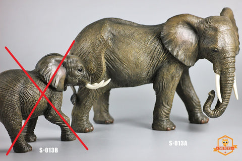 【預訂日期至30-Jul-19】SGTOYS 1/12 Elephant Figure