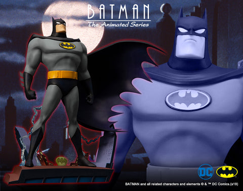 【已截訂】Kotobukiya ARTFX+ DC UNIVERSE Batman The Animated Series Opening Edition 1/10 PVC Figure