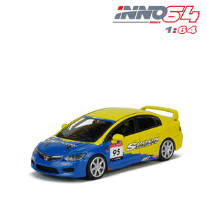 【已截訂】Inno Models Honda Civic Type-R FD2 Spoon Sports 1/64 Diecast Car