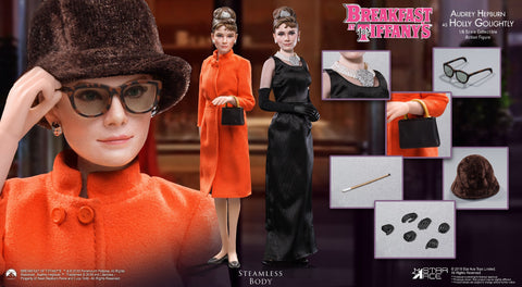 【已截訂】Star Ace Breakfast at Tiffany's Audrey 2.0 (Orange without table) 1/6 Action Figure