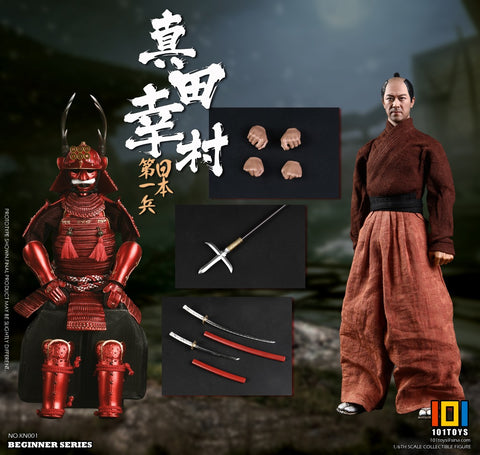 【預訂日期至03-Jun-19】101TOYS BEGINNER SERIES THE NO.1 JAPANESE SOLDIER - SANADA YUKIMURA (STANDARD VERSION) 1/6 Action Figure