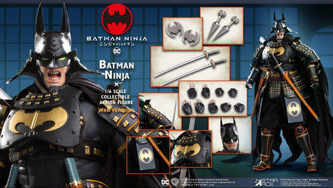 【已截訂】Star Ace 1/6 Batman Ninja DX (War version) Action Figure
