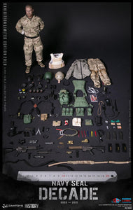 【已截訂】DAMTOYS Decade Navy Seal 2003-2013 1/6 Action Figure [SHCC2018會場版]