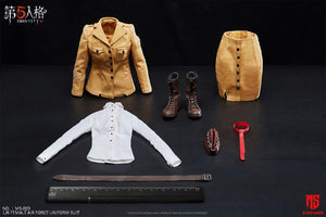 "【已截訂】STAR MAN ""Identity V"" Female Air Force Uniform Suit 1/6 Clothing"