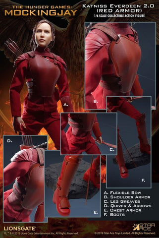 【已截訂】Star Ace Katniss Everdeen 2.0 (Red Armor Ver.) 1/6 Action Figure