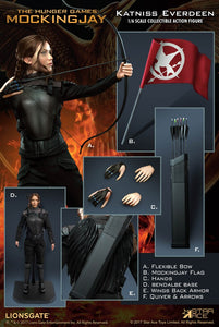 【已截訂】Star Ace Katniss Everdeen [Black Armor Ver.] 1/6 Action Figure