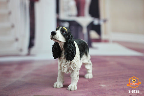 【預訂日期至30-Jul-19】SGTOYS 1/6 Simulated Animal Springer Spaniel Figure
