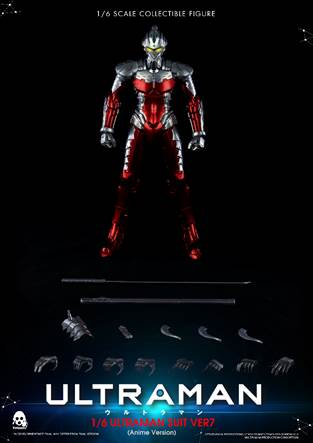 【已截訂】Threezero 3A 16 ULTRAMAN SUIT Ver7 (Anime Version) Action Figure