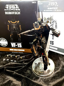 【售完】KitzConcept Robotech 1/72 VF-1S Roy Fokker Dark Gold Ver. Action Figure [網店限定]