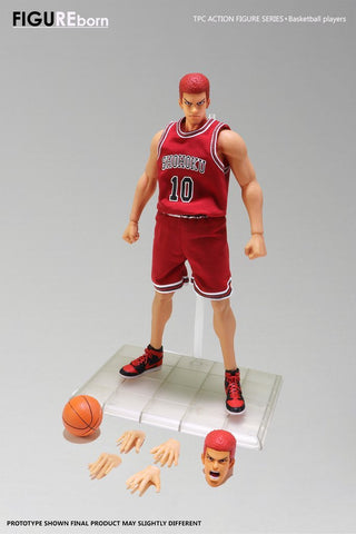 【IN STOCK For Oversea Customers Only】SOMEBODY Toys Basketball Player Series Genius Basketball Player 1/9 Die Cast Action Figure