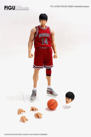 【預訂日期至另行通知】SOMEBODY Toys Basketball Series Genius Basketball Player (Mitsui) 1/9 Die Cast Action Figure