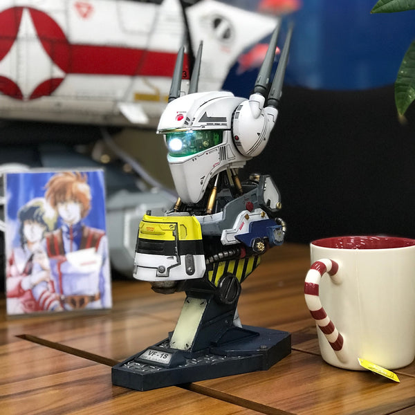 【已截訂】Kids Logic Robotech Mechanical Bust Series Macross Valkyrie VF-1S 1/8 Statue