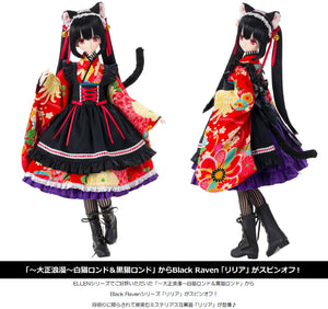【已截訂】Azone Black Raven Series Lilia -Taisho Romantic- Black Cat 1/3 Action Doll
