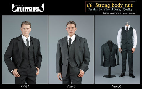 【已截訂】VORTOYS 1/6 Strong bady suit Clothing [不包素體頭雕]