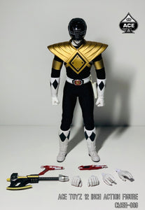 【已截訂】Ace Toyz Super Hero Series A - Golden Black Hero 1/6 Action Figure