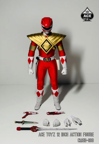 【已截訂】Ace Toyz Super Hero Series A - Golden Red Hero 1/6 Action Figure