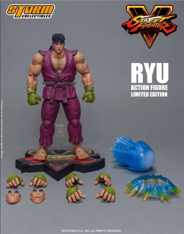 【現貨】Storm Collectibles Street Fighter V RYU Limited Edition 1/12 Action Figure