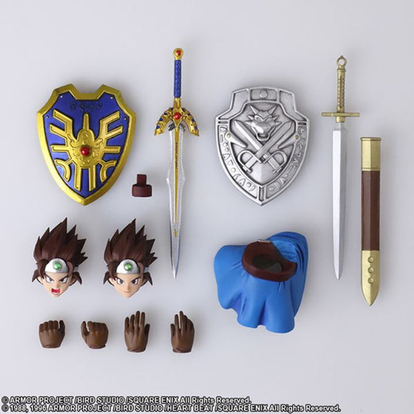 【已截訂】Square Enix Bring Arts Dragon Quest III The Seeds of Salvation Hero Action Figure