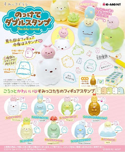 【已截訂】RE-MENT Sumikkogurashi Double Stamp [全8種]