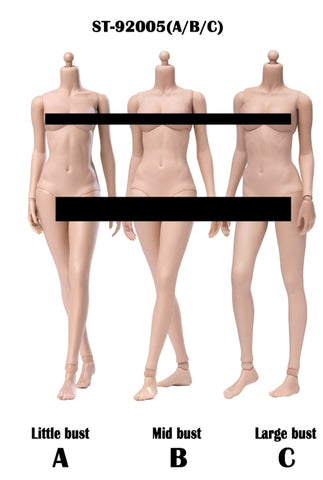 【已截訂】POPTOYS 1︰6 92005 XING Series Modified Version Super flexible female body - Sun Tan 3 bust Action Figure