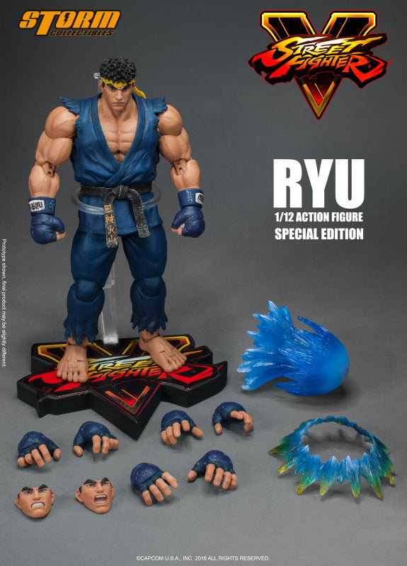 【現貨】Storm Collectibles Street Fighter V RYU Special Edition 1/12 Action Figure