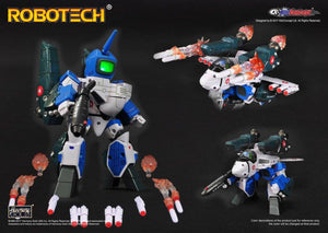 【售完】KitzConcept Robotech SD Super-Deformed Macross VF-1A Max Sterling with Fast Pack Armor