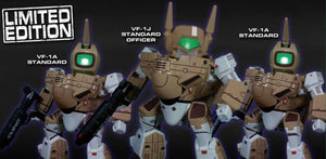 【售完】KitzConcept Robotech SD Super-Deformed VF-1 Standard [全3種]