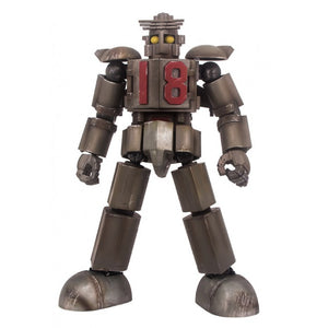 【現貨】World Scope Daitetsujin 17 Daitetsujin 18 Damage Ver. Action Figure