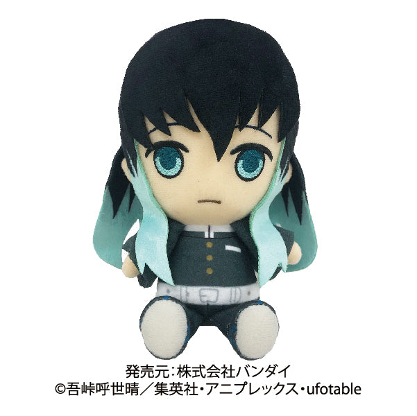 【預訂-數量有限,額滿即止】Sunrise DEMON SLAYER CHIBI PLUSH_TOKITO MUICHIRO Doll (再販)