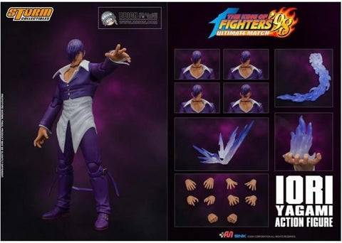 【現貨】Storm Collectibles KOF 98 - Iori Yagami (SP Ver.- Purple) Action Figure