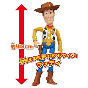 【現貨】TAKARA TOMY DS Disney Figure-Toy Story 4 Life Size Value Woody