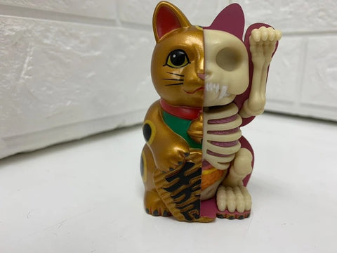 【現貨】4D Master Fortune cat Money bank - Gold
