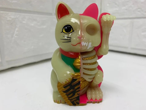 【現貨】4D Master Fortune cat Money bank - Fluorescent